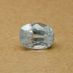 4.94 Carat Natural White Zircon Gemstone