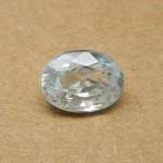 6.39 Carat Natural White Zircon Gemstone