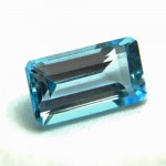 3.69 Carat/ 4.10 Ratti Natural Blue Topaz Gemstone