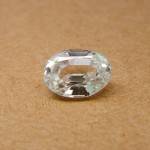 3.29 Carat Natural White Zircon Gemstone