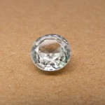 3.48 Carat Natural White Zircon Gemstone