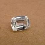 3.67 Carat Natural White Zircon Gemstone