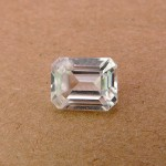 3.70 Carat Natural White Zircon Gemstone