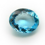 4.58 Carat/ 5.08 Ratti Natural Blue Topaz Gemstone