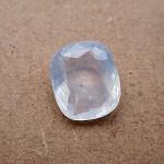4.65 Carat/ 5.16 Ratti Natural Ceylon Colorless Sapphire Gemstone