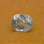 4.66 Carat/ 5.17 Ratti Natural Ceylon White Zircon Gemstone