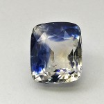 7.68 Carat Natural Particolored Sapphire (Neelambari) Gemstone From Sri Lanka