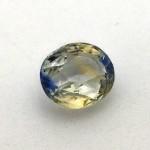 2.08 Carat Natural Particolored Sapphire (Pitambari) Gemstone