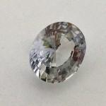 2.40 Carat/ 2.67 Ratti Natural Ceylon Colorless Sapphire Gemstone