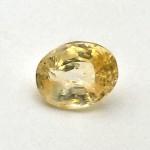 5.51 Carat Natural Ceylon Yellow Sapphire (Pukhraj) Gemstone