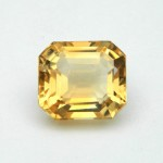 6.95 Carat/ 7.71 Ratti Natural Citrine (Sunela) Gemstone