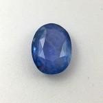 5.60 Carat  Natural Blue Sapphire (Neelam) Gemstone