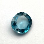 6.66 Carat  Natural Blue Zircon Gemstone