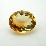 6.48 Carat/ 7.20 Ratti Natural Citrine (Sunela) Gemstone