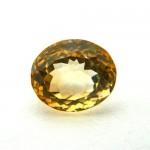 6.19 Carat Natural Citrine (Sunela) Gemstone