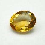 5.17 Carat Natural Citrine (Sunela) Gemstone
