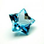9.67 Carat Natural Blue Topaz Gemstone