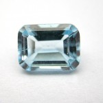 1.95 Carat Natural Blue Topaz Gemstone