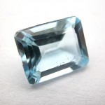 2.72 Carat Natural Blue Topaz Gemstone
