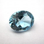 3.12 Carat Natural Blue Topaz Gemstone