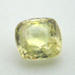 5.71 Carat Natural Yellow Sapphire (Pukhraj) Gemstone