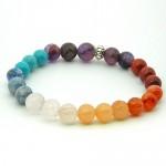 Seven Chakra Gemstone Bracelet