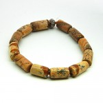 Petrified Wood Gemstone Bracelet
