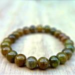 Natural Green Tourmaline Beads Bracelet