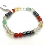 Natural Multi Color Gemstone Bracelet