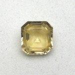 1.65 Carat Natural Yellow Sapphire (Pukhraj) Gemstone