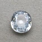 5.33 Carat Natural White Zircon Gemstone