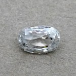 4.56 Carat Natural White Zircon Gemstone