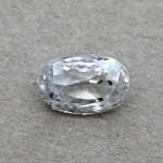 4.56 Carat Natural White Zircon Gemstone