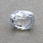 4.60 Carat Natural White Zircon Gemstone