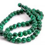 Natural Malachite AAA Quality Gemstone Beads String