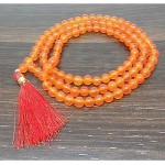 Natural Carnelian Beads String Mala