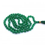 Natural Jade Stone Beads String Mala