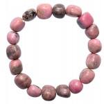 Natural Rhodonite Crystal Bracelet