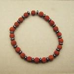 Rudraksha and Hematite Bracelets