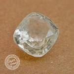 5.5 Carat Natural White Sapphire Gemstone