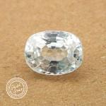 5.31 Carat Natural White Zircon Gemstone