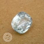 5.45 Carat Natural White Zircon Gemstone