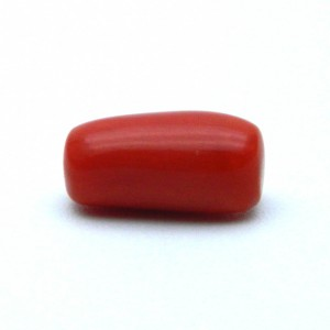 5.68 Carat/ 6.30 Ratti Natural Italian Coral (Moonga) Gemstone