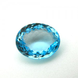 10.93 Carat/ 12.14 Ratti Natural Blue Topaz Gemstone
