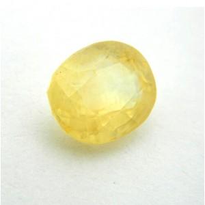 9.07 Carat/ 10.07 Ratti Natural Ceylon Yellow Sapphire (Pukhraj) Gemstone