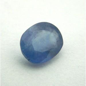 4.03 Carat Natural Blue Sapphire (Neelam) Gemstone