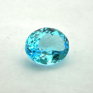 7.84 Carat/ 8.7 Ratti Natural Blue Topaz Gemstone