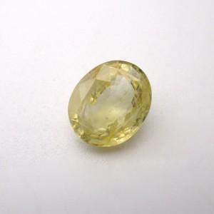 5.63 Carat/ 6.25 Ratti Natural Ceylon Yellow Sapphire (Pukhraj) Gemstone