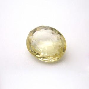5.12 Carat/ 5.68 Ratti Natural Ceylon Yellow Sapphire (Pukhraj) Gemstone