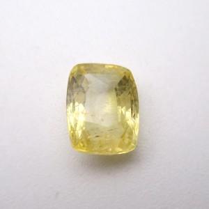 4.02 Carat/ 4.46 Ratti Natural Ceylon Yellow Sapphire (Pukhraj) Gemstone